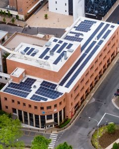Solar Panel Install Lions Eye Institute Perth